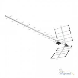 Antena Digital Proeletronic Yagi Alto ganho PROHD-1118